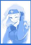 Blue Hospitaller