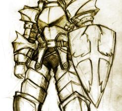 Ragnarok Online Paladin by Lutherniel