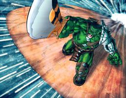 World War Hulk by LiamShalloo