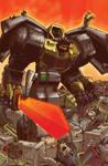 Best of UK, Dinobots 5, Cover