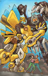 Bumblebee vs Barricade