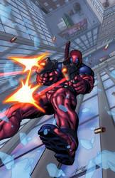 Deadpool. Making it look easy