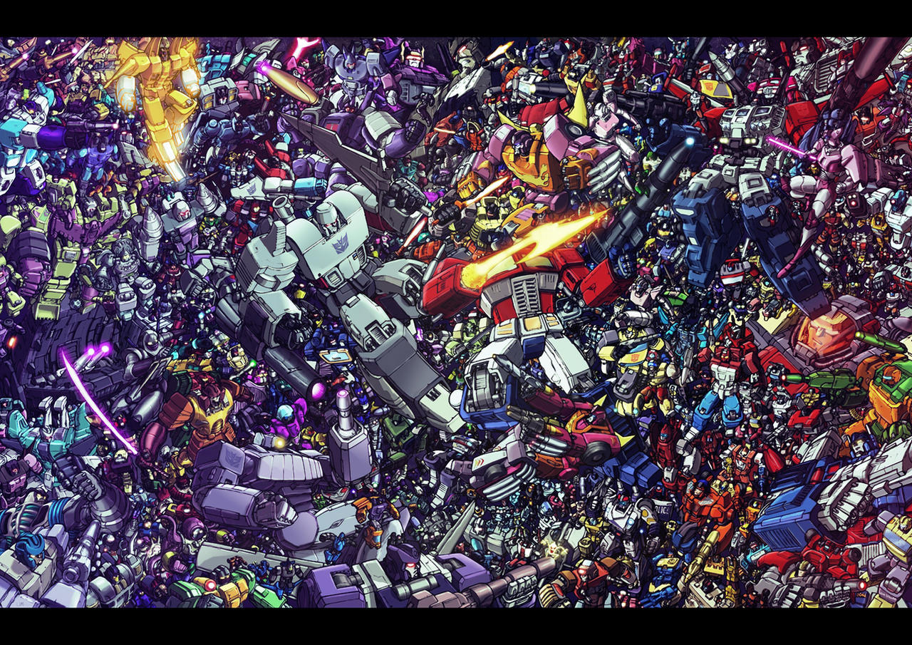 Transformers Mega Litho AGAIN by LiamShalloo