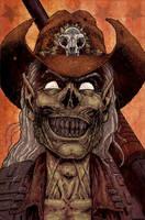 Rhinestone Zombie Cowboy by LiamShalloo