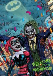 Joker and Harley by LiamShalloo