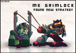 Me Grimlock Need New Strategy