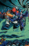 Transformers Time Wars 5 Cover