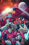 The Transformers #28 Cover (Unofficial)