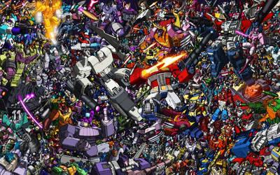 Transformers Mega Litho
