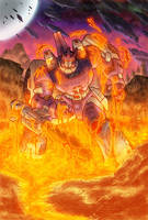 Behold GALVATRON by LiamShalloo