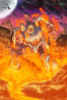 Behold Galvatron Comic Colours by LiamShalloo