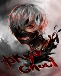Tokyo Ghoul by yoxiru