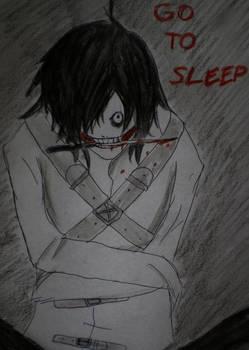 Jeff the killer story (manga) - COVER