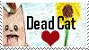 Dead Cat stamp by mio-san13