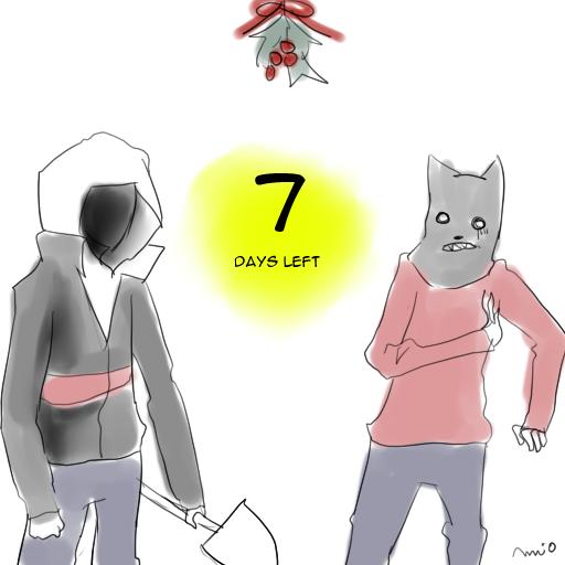 X-MAS COUNTDOWN!/7/ by mio-san13