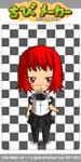 Chibi Akane by roxasth3nobody
