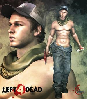 LEFT 4 DEAD 2 Ellis Sexy version