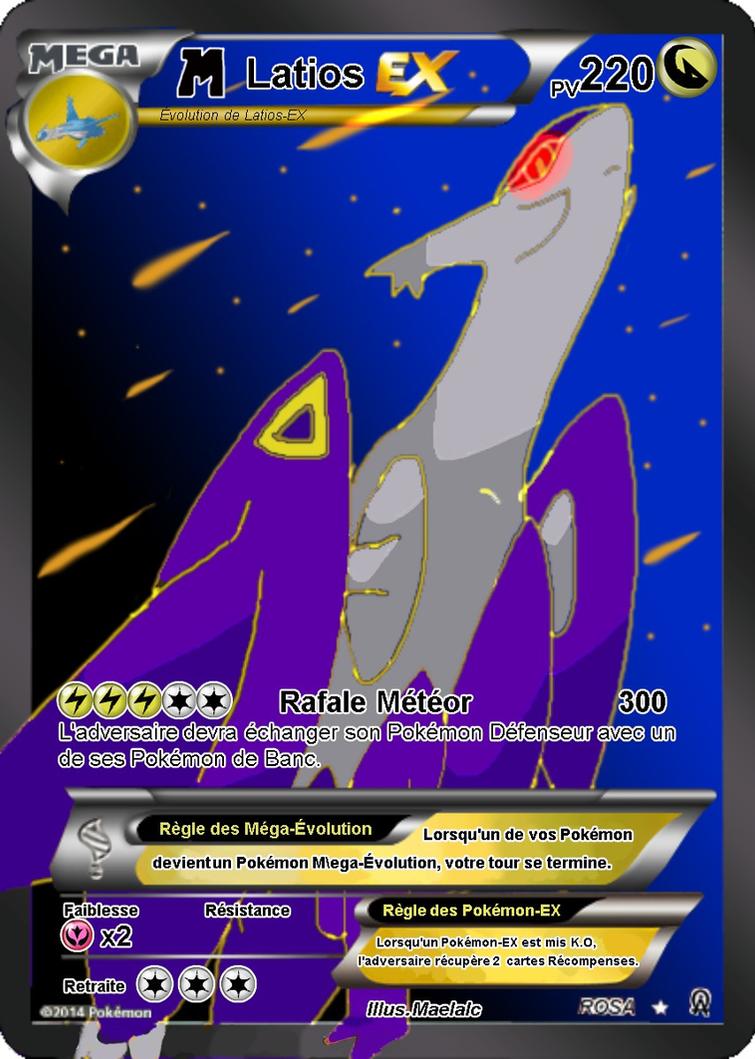 Latios ex card