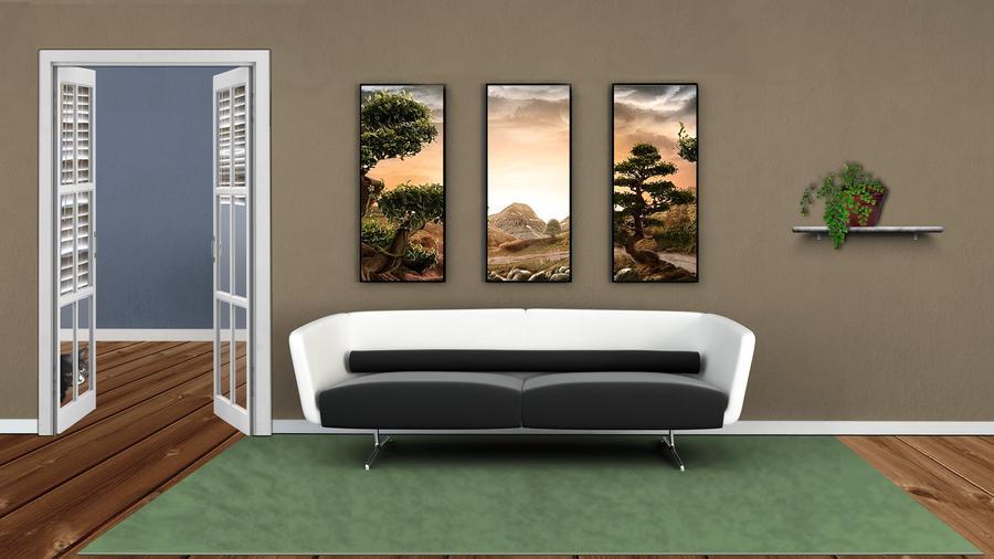 Livingroom by gillon