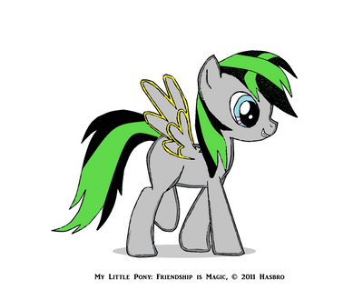My MLP oc by 2no1self