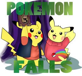 Pokemon Falls by OkamiRaina