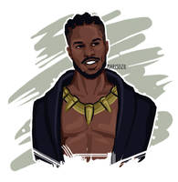 Killmonger 2 by MarisozilArt