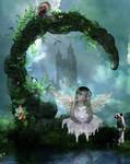 Fairy Hideaway by Demoncherry