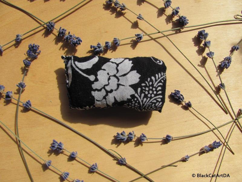 Lavender pillow  by BlackCatArtDA