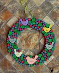 Wreath from wood  by BlackCatArtDA