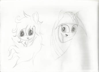 Starlet and Twilight by HolotheCat