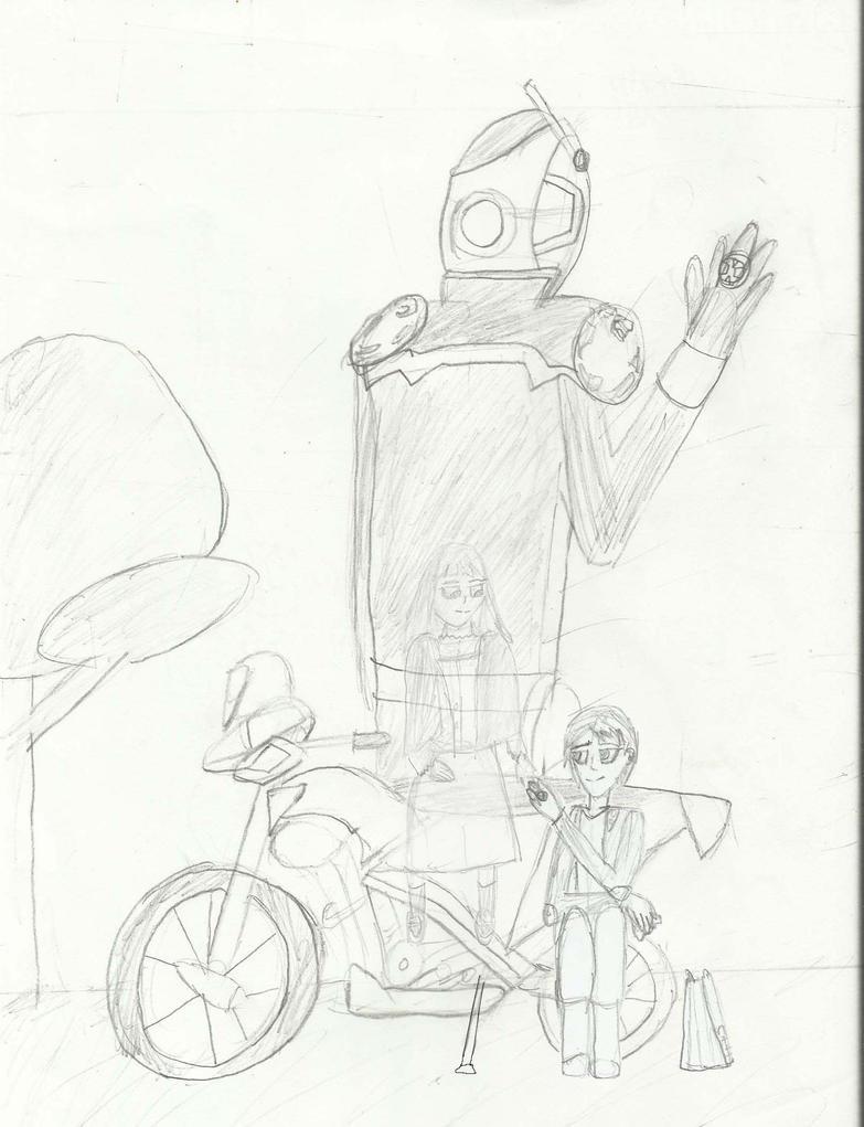 Kamen rider wizard fan art :The end by joey2132132