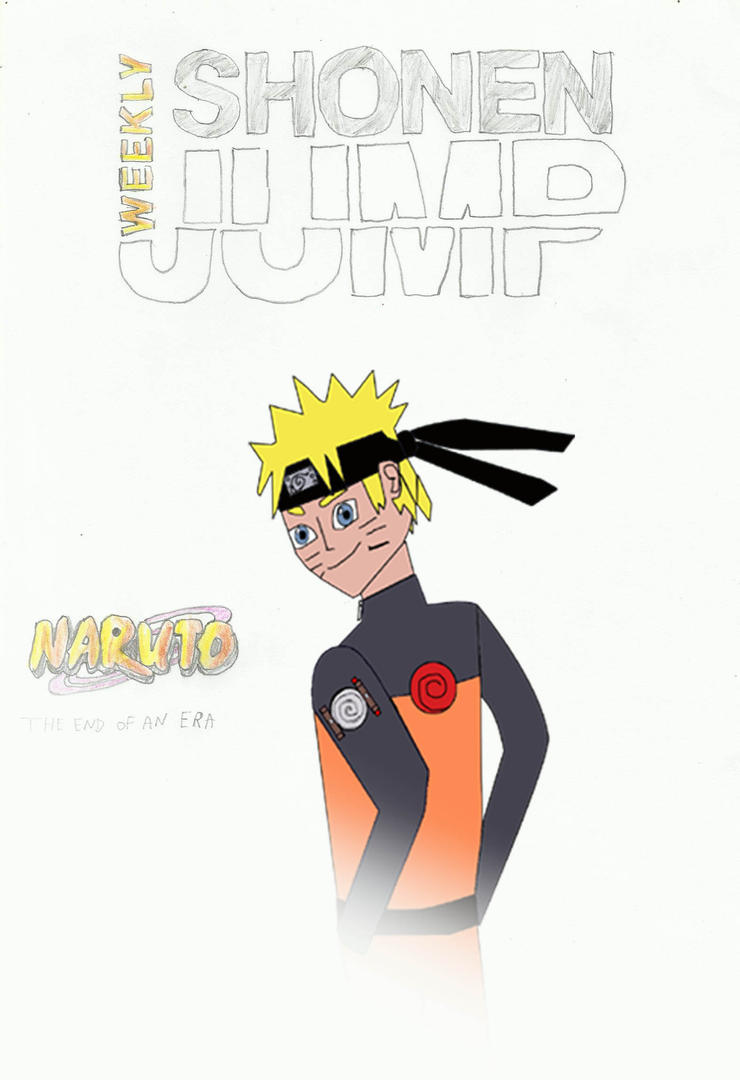 Naruto Final Shonen Jump Fan Art Cover (h.m v2) by joey2132132