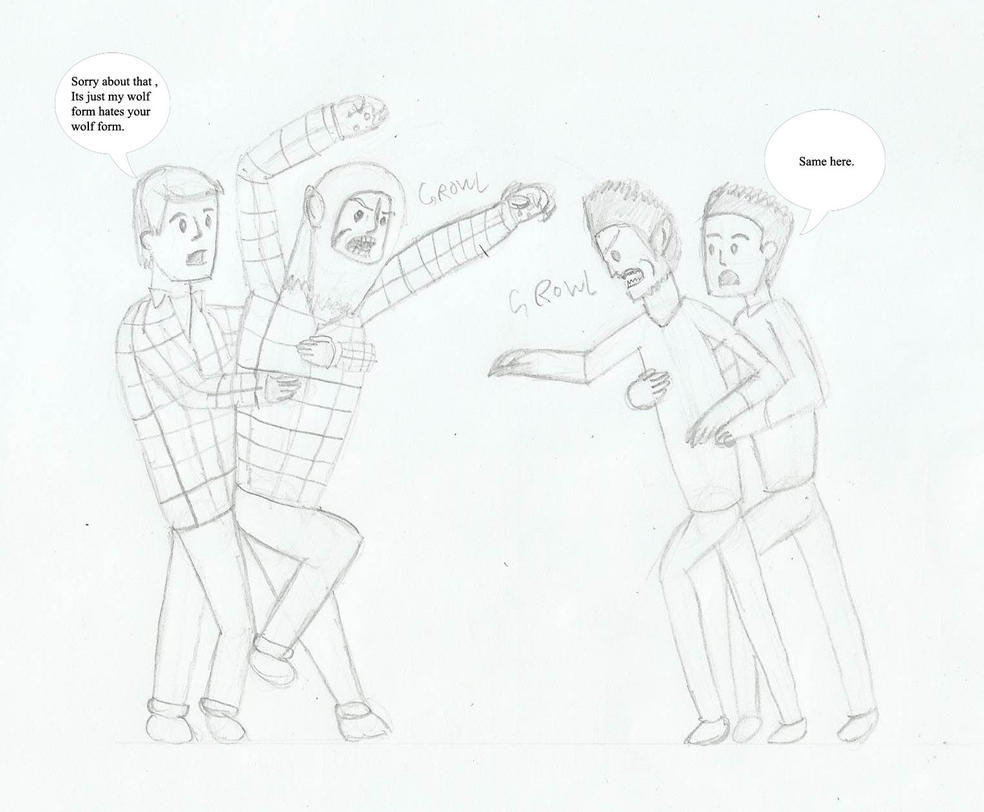 Teen Wolves by joey2132132