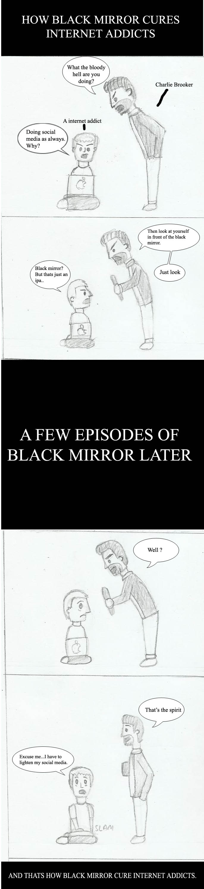 How black mirror cures internet addicts by joey2132132