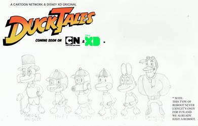 Ducktales CN reboot style by joey2132132