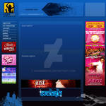 Nightlife portal web template