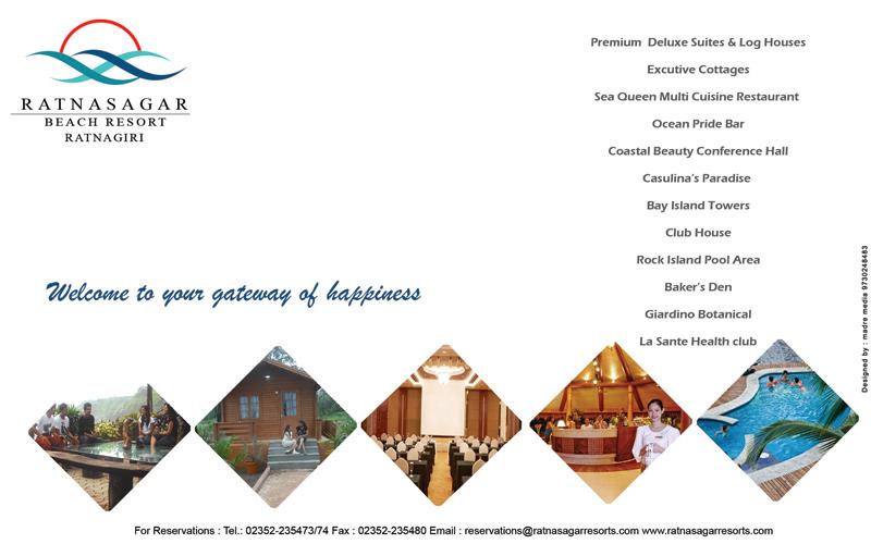 Ratnasagar Beach Resort Ratnagiri Tariff
