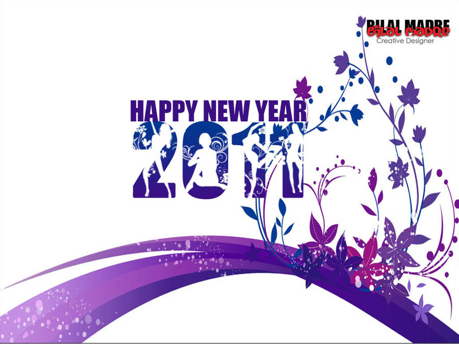 New Year 2011 Wallpaper by MadreMedia