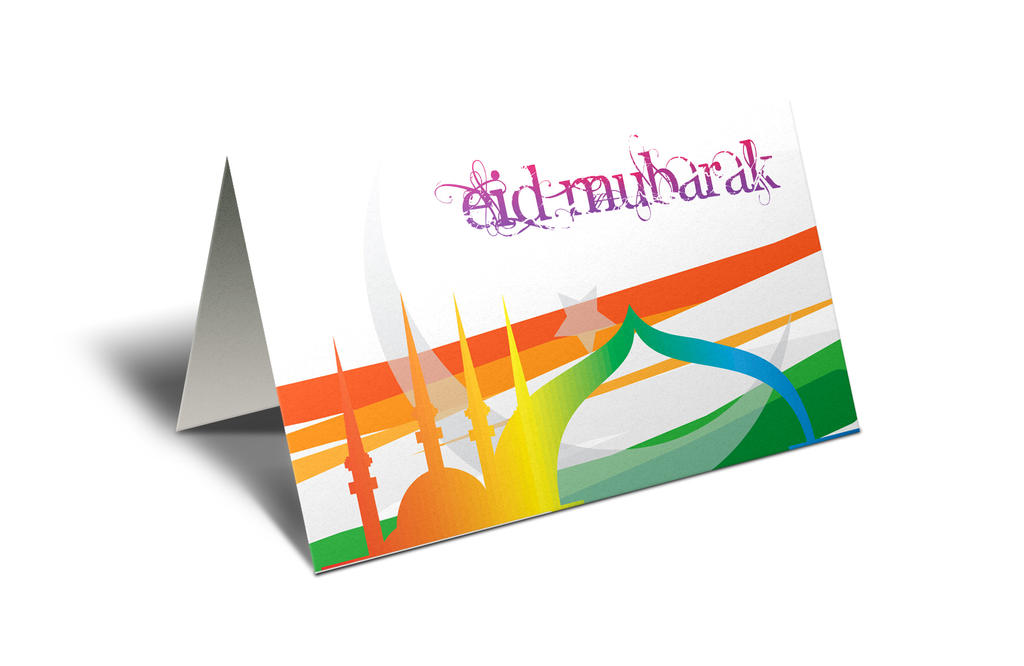 Eid Mubarak Greeting by MadreMedia