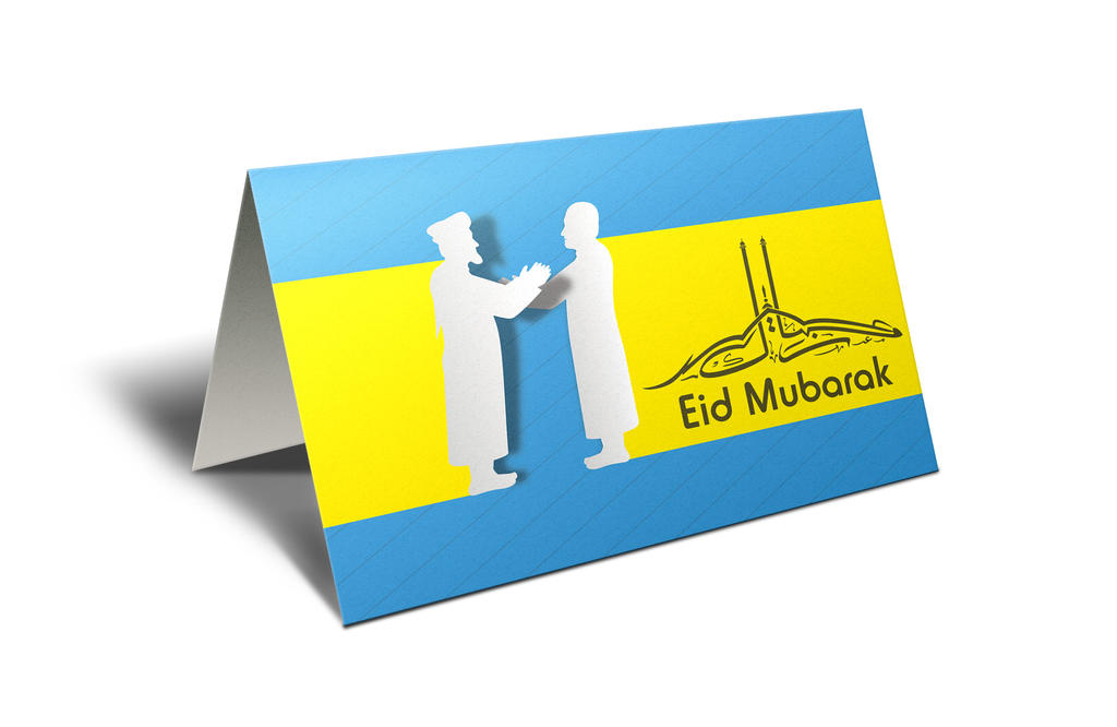 Eid Mubarak Festival Greeting by MadreMedia