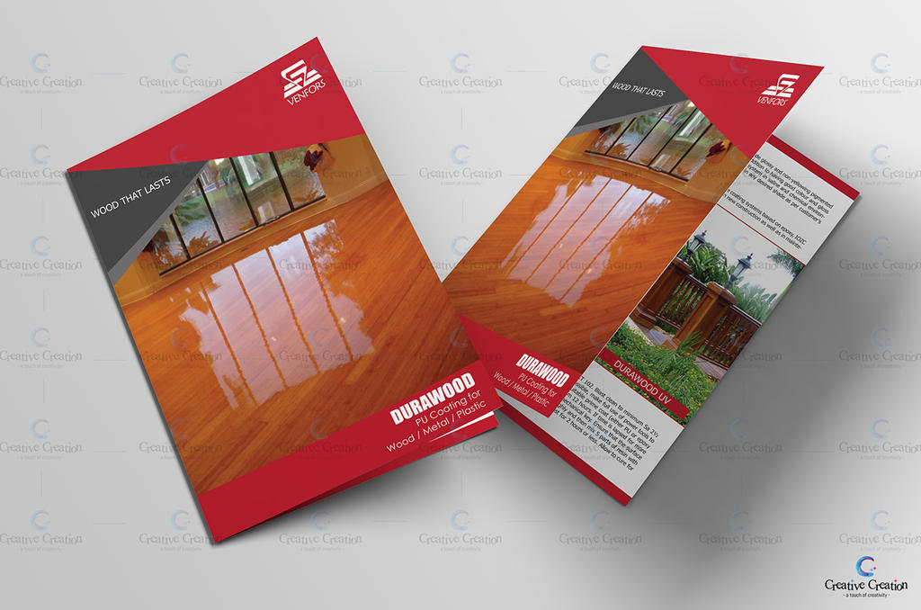 Bi Fold Brochure for Venfors India by MadreMedia