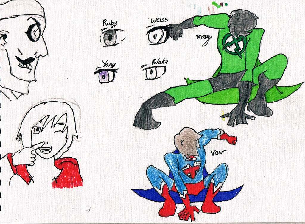 Fan Art  xray and vavXray And Vav Drawing