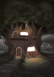 Tree House by YeshuaNel