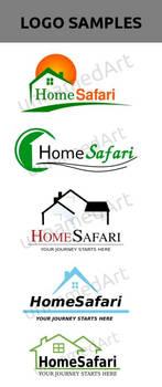 Logo designs Home Safari