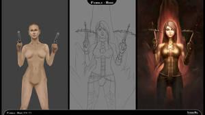 Process steps (Demon Hunter, Diablo 3)