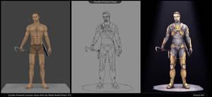 Process steps (Half Life 2, Gordon Freeman)