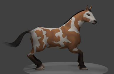 Horse model Sample 4 by YeshuaNel