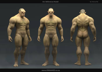 Orc Reference Model by YeshuaNel
