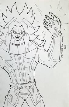 Branos (Broly + Thanos)