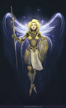 Aasimar Life Cleric